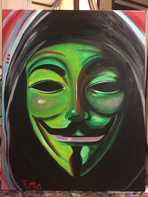 """""""Anonymous"""" - sold"""